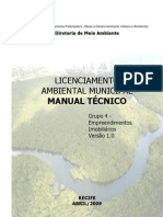Manual Tecnico Licenciamento Ambiental