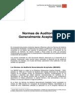 Las Normas de Auditorc3ada Generalmente Aceptadas