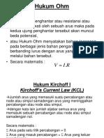 (Minggu 3) Hukum Kirchoff