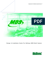 MDS Design and Installation Guide