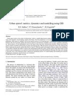 Urban sprawl metrics dynamics and modelling using GIS.pdf
