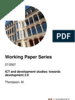 7.ICT_Dev and Development Studies