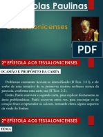 As Epístolas Paulinas - 2 Tessalonicenses