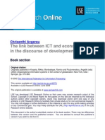 8.the Link Between ICT and Economic Growth in the Discourse of Development (LSERO)