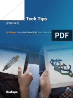 Onshape's Greatest Tech Tips– Volume 1