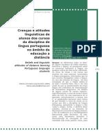 Crenças e Atitudes - Português EAD