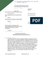Orden Denegando Peticion de CEPR Contra La JSF (Aee)