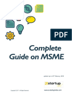 A Comprehensive Guide on MSMEs & Startups.