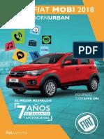Fiat Mobi Catalogo 2018