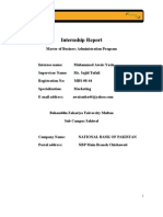 20313353 Internship Report
