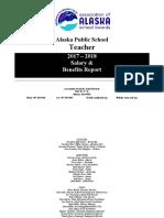 AK Teachers 2017-2018 Salary & Benefits Report