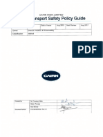 Road Transport Safety Policy Guidance