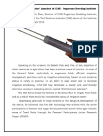 SMI Web Bulletin for CaneInfo