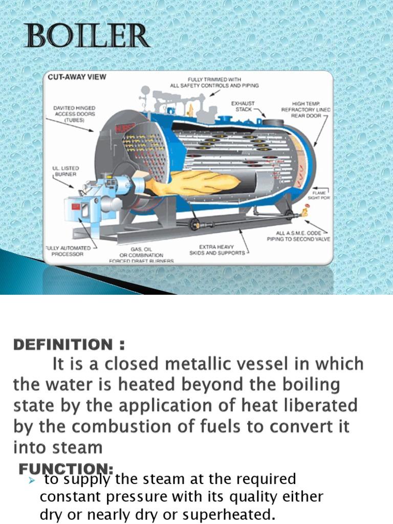 Boiler | Boiler | Steam