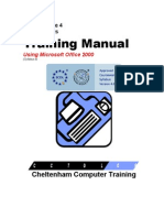 Ecdl v4 Mod4 Office-2000 Manual