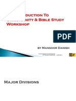 An Introduction to Bible Study Workshop