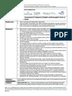 Wc Guideline Diabetic Neuropathic Ulcers