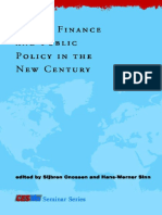 Public Finance and Public Policy in the New Century - SINN