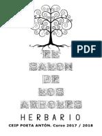 HERBARIO EL SALÓN  DE LOS ÁRBOLES