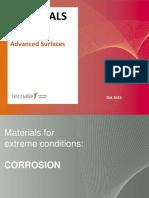 Materials Corrosion Surfaces TECNALIA 2015