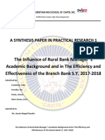 Synthesis Paper