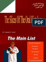 [Oral Biology]Slides for Oral Histology-Part1_American Corner Family 'October 8th,2010' [ACFF @AmCoFam]