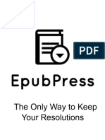 The Only Way to Keep Your Resolutions.epub