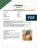 CREMAS - Clase 2 - Recetario.docx