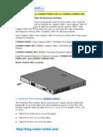 c2960x Stack vs. c2960x Fiber Stk vs. c2960x Hybrid Stk