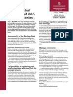 Fact Sheet Gender Neutral Marriage and Marriages Ceremonies