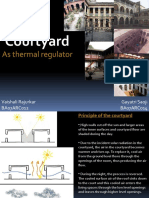 Courtyard as Thermal Regulator