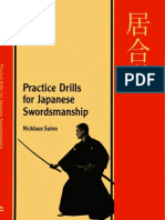Practice Drills for Japanese Swordsmanship by Nicklaus Suino