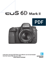 Canon 6D MK II User Guide - English