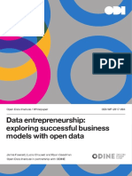 Data entrepreneurship
