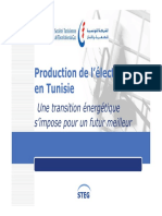 Production Electricité STEG