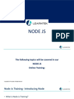 NODE JS Online Training
