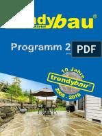 Trendybau PflasterFugenMoertel Katalog 2018