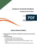 4 Javascript Jquery Advanced Techniques m4 Slides