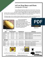 Data Sheet Low Drag Ellipsoid Buoy 16 Rev 4