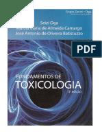 Fundamentos de Toxicologia 3ª Ed. - Seizi Oga - Português