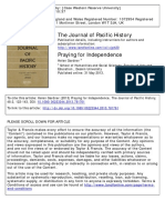 Gardner (2013) Praying for Independence the Journal of Pacific History