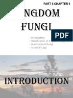 Part 6 Kingdom Fungi