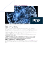 NFV and MEC - Differences