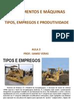 Aulas 3 e 4 (Máquinas) - Edificações