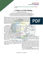 Survey Paper on Link Mining