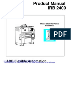 ABB-S4C-Product Manual IRB 2400 3HAC 5644-1 M98A ... on