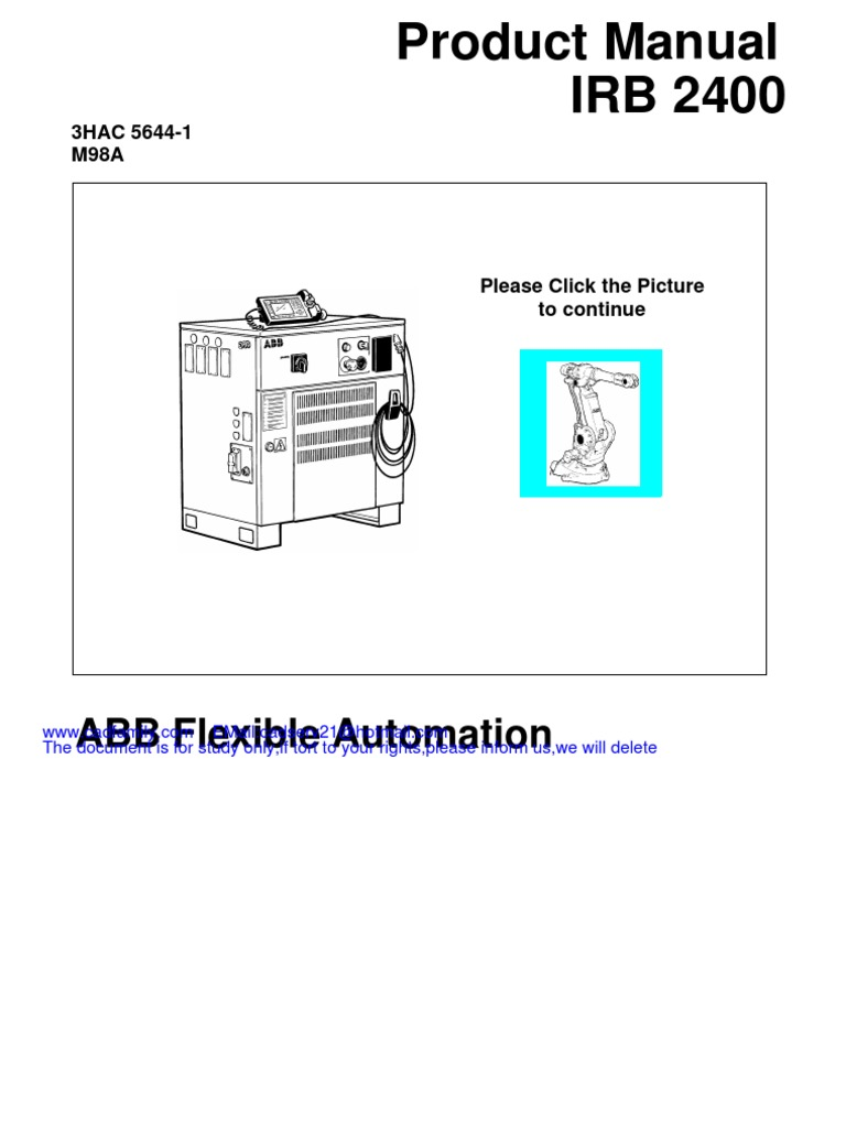 Product On-line Manual IRB 6400R