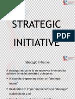 Strategic Initiative