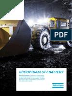 Especificaciones Tecnicas de Scooptram a Bateria