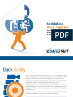 SafeStart Back Injuries Guide